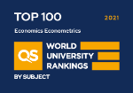 QS Rankings by subject, Economics & Econometrics
